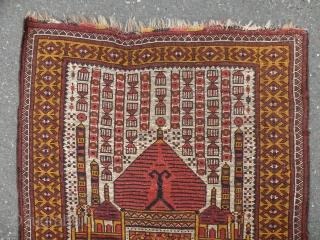 Ersari Turkmen rug,74 x 107cm