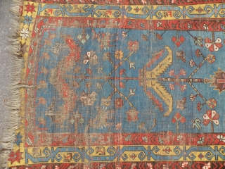 Antique Anatolian Ladik Prayer rug 102x162 cm