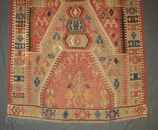 Antique Anatolian kilim 122x190 cm