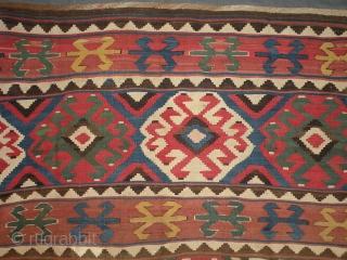 Antique Caucasian kilim 170x234 cm