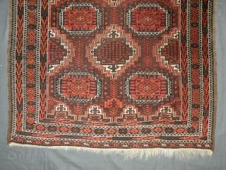 Baluch,Northeast Iran, circa 1900, 107x197 cm