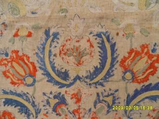 Antıque Anatolıan Ottomanıa Textile size: 130x130 cm.