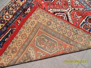 Antıque Anatolian Bergama Carpet size. 150x135 cm.