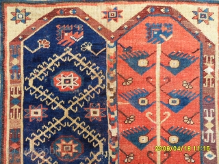 Antıque Anatolian Mehri Carpet size: 185x130 cm