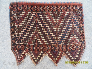 Antıque Türkmen Yamout Okluk size 55x65 cm.