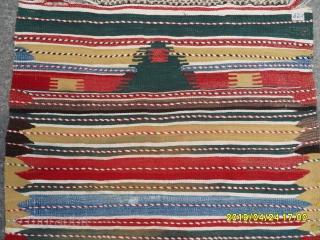 Antique Anatolian Prayer Kilim size: 150x82