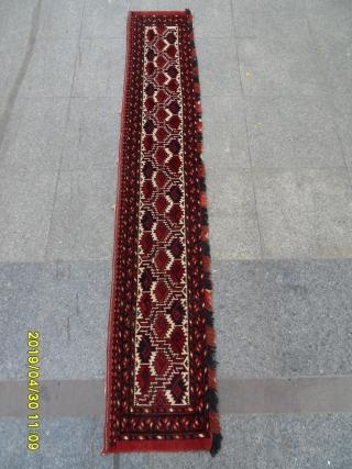 Antique Türkmen Beşir size: 202x36