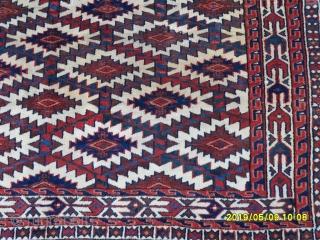 Antique Türkmen Asmalık Carpet
