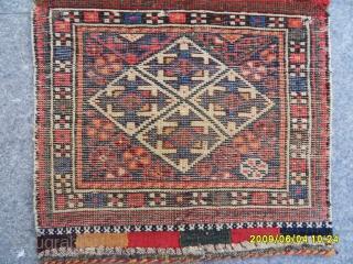 Antique qashqai Bagface size:40x50 cm.