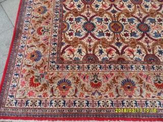 Antique Pair Big Keşan Carpet size: 410x315.cm.
