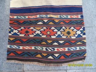 Antique Caucasian Kilim size:175x75