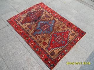 Antıque Anatolıan Sivas Carpet size: 150x110 cm.