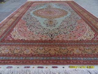 Anatolıan istanbul Çınar Silk Carpet Perfect size: 330x215 cm.