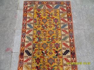 Antıque Shahsavan Carpet size: 215x90