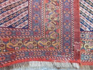 Antique Khamse Rug Panel