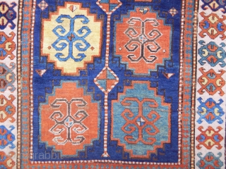 Antique Caucasian Mogan Kazak Rug
