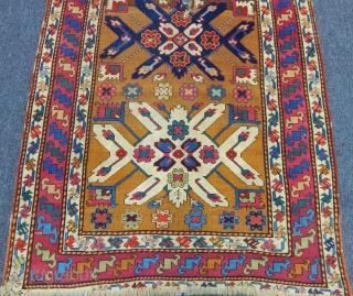 Antique Susa Karabag Rug