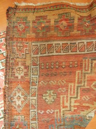 Antique East Anatolian Sarkısla Yörük Rug Runner  Size.400x105 cm