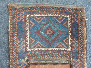 Antique Baluch Saddlebag Rug