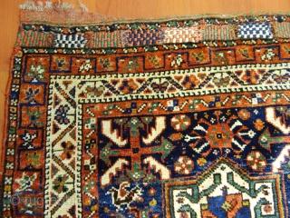 Antique Qashqaii Rug Bagface  Size.76x80 cm