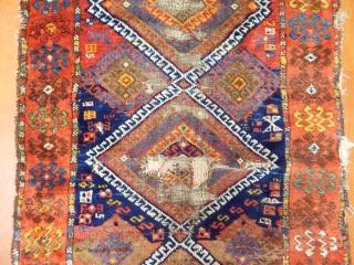 Antique East Anatolian Yörük Rug  Size.240x85cm
