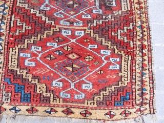 Antique East Anatolian Kurdish Rug  size.195x110cm