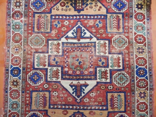 Antique West Anatolian Kozak Rug 