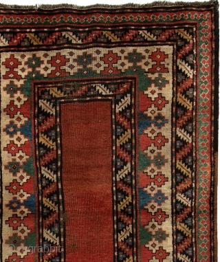 Antique Caucasian Lenkoran Talısh Rug