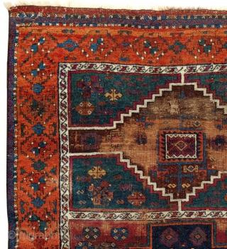 Antique Anatolian Cihanbeyli Yörük Rug
