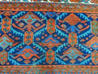 Antique Nortwest Rug Panel