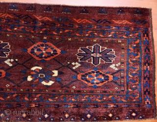 Antique Turkmen Ersari Torba