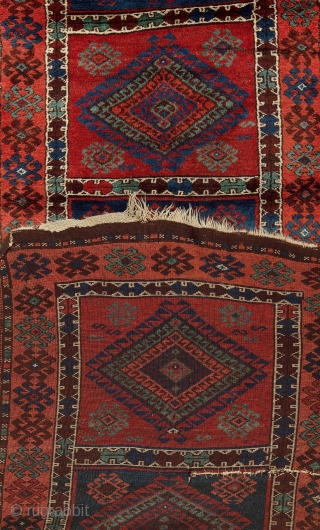 Antique East Anatolian Yörük Rug Runner
