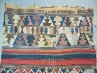 Antique West Anatolian Bergama Kilim