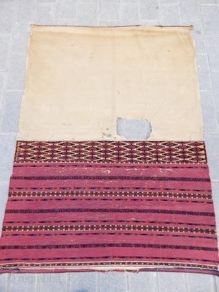 Antique Turkmen Tekke Ak Chuval