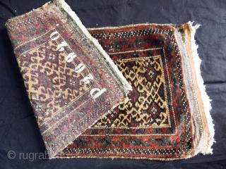 Antique Baluch Balısh  size.78x47cm