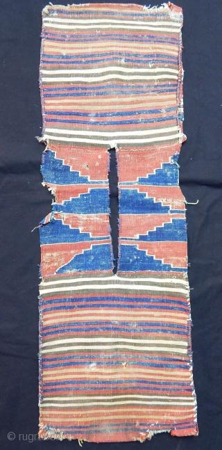Antique West Anatolian Kilim Saddlebag
