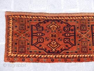 Antique Ersari Rug  Trapping  size.45x200cm