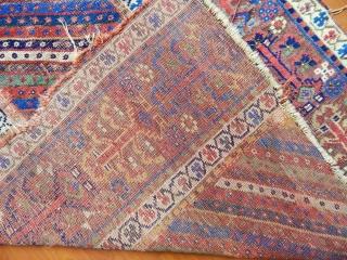 Antique Nortwest Persian Rug Fragment  Size.255x120 cm