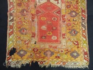 Antique West Anatolian Melas Rug