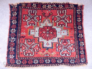 Antique Khamse  Rug Bagface