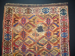 Antique Avsar Rug