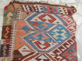 Antique Anatolian Kilim Part