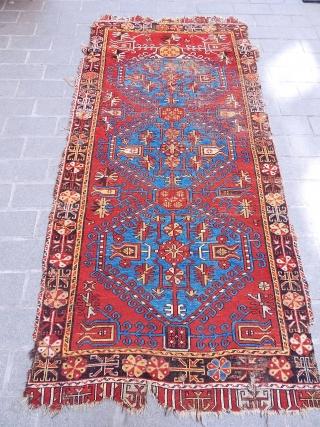 Antique Anatolian Konya Ladik Rug