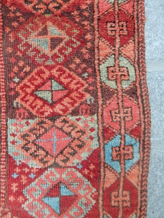 Antique East Anatolian Divan Rug Fragment