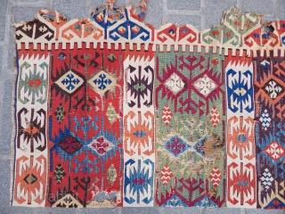 Antique South East Anatolian Kilim Fragment