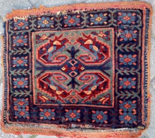 Antique Sirvan Rug Bird Bagface