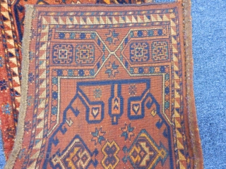 Antique Turkmen Ersari Trapping