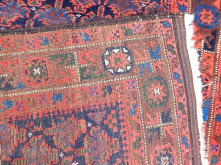 Antique Tumuri Baluch Runner Rug
