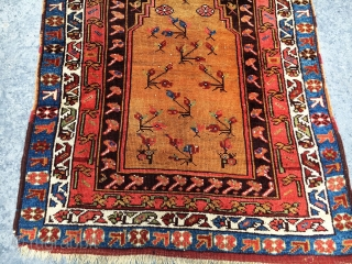 Antique Anatolian Prayer Rug