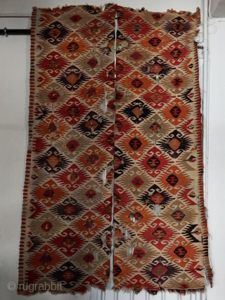 Antique Anatolian Sivrihisar Kilim  size.250x155cm